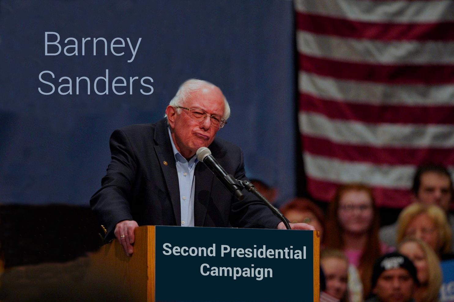 Barney Sanders Started the Second Presidential Campaign