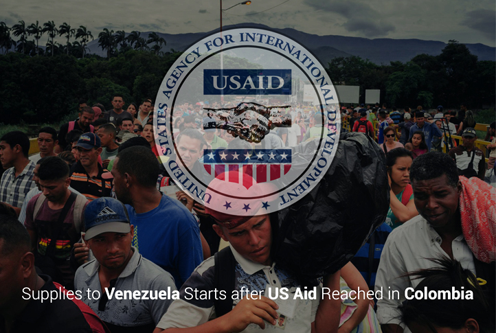 Supplies to Venezuela Starts after US Aid Reached in Colombia