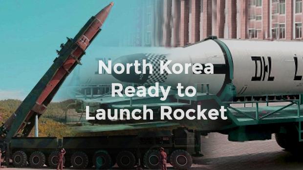 North Korea ready to launch rocket