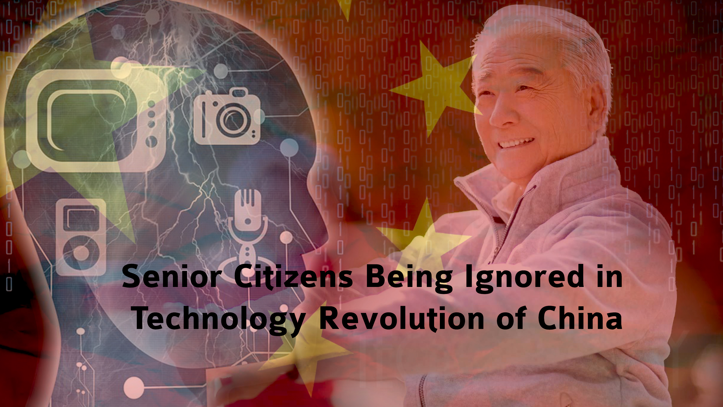 Chinese Senior Citizens Being Ignored in Technology Revolution