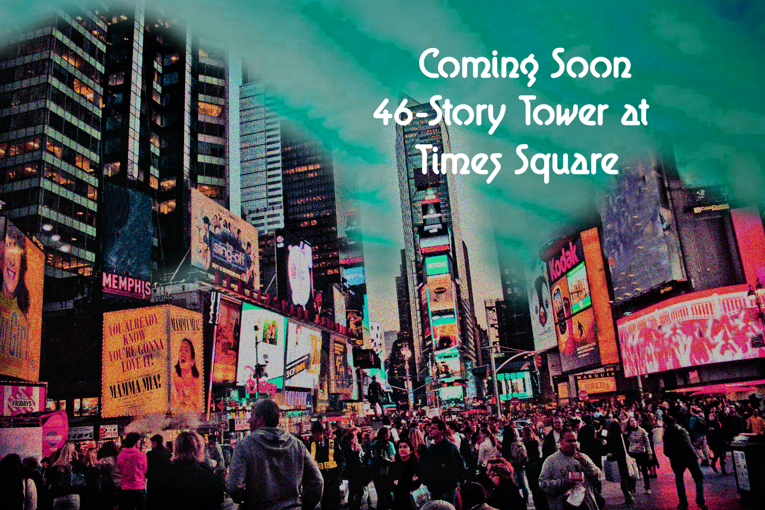 A new 46-Story Tower at Times Square to Build