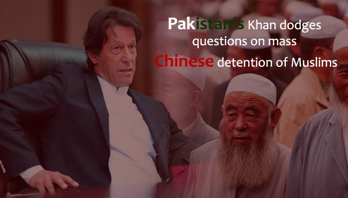 Pakistani PM Skips Questions About Chinese detention of Muslims