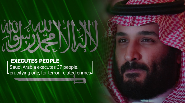 37 People Put to Death in KSA due to Terror-related Crimes