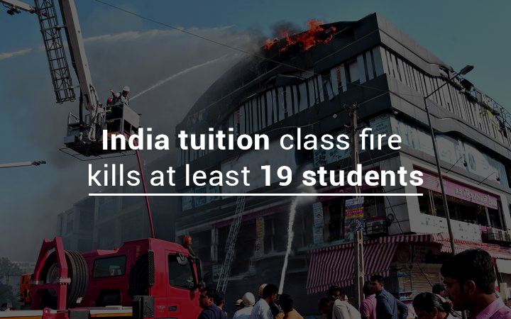 About 19 Students Killed in Tuition Class Fire in India