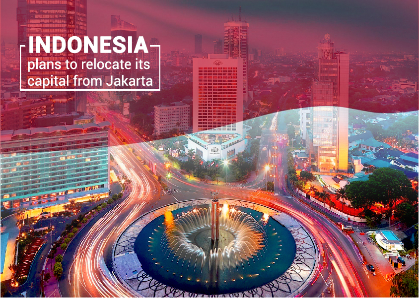 Indonesia Is Going to Shift its Capital from Jakarta