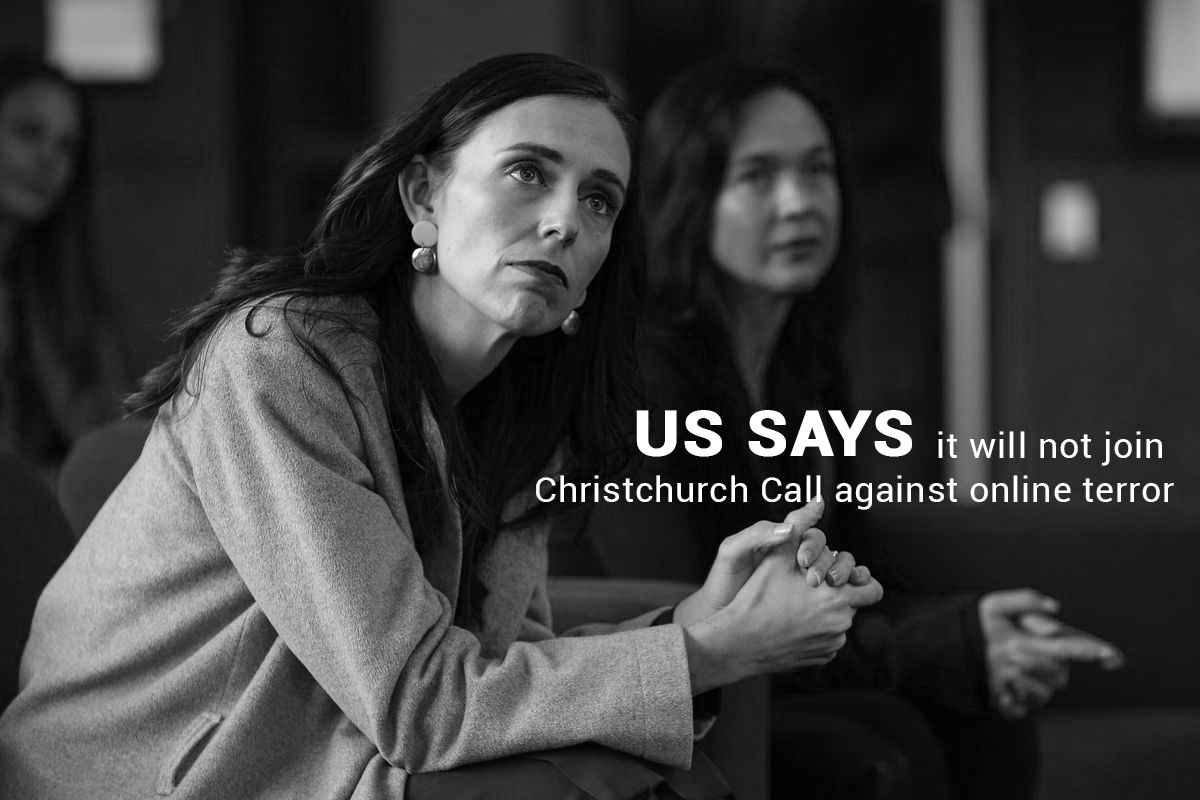 Not to Join Christchurch Call against online Terror – US