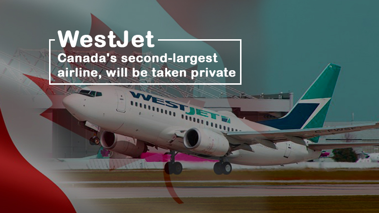 Second Largest Canadian Airline, WestJet will be Privatized