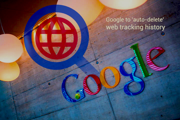 To allow auto-Delete Web Tracking History – Google