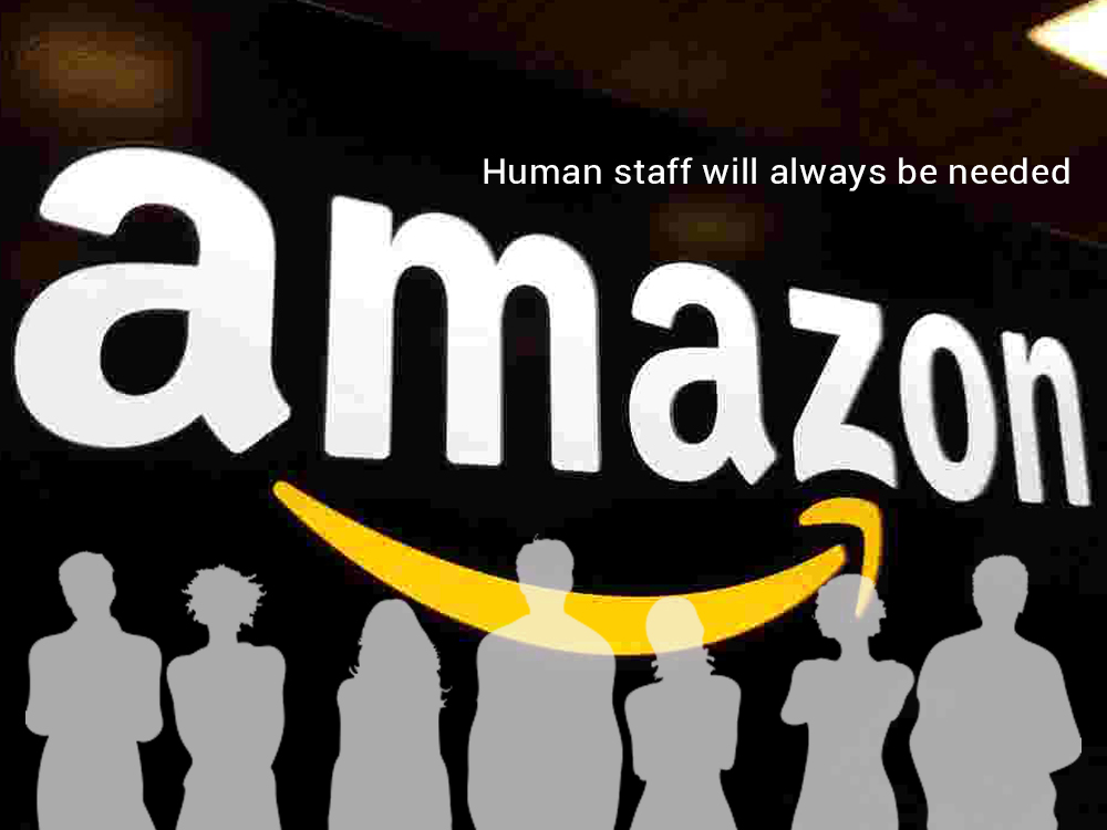 Amazon Insist for the Need of Human Staff