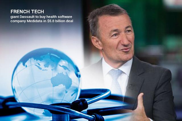 Dassault to Purchase Medidata in a Deal of 5.8 billion Dollars