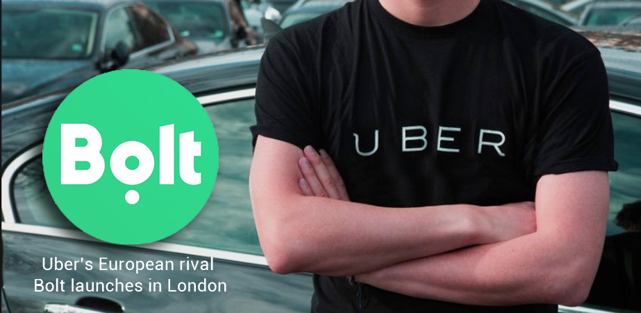 Uber European Rival of Bolt starts its Services in London