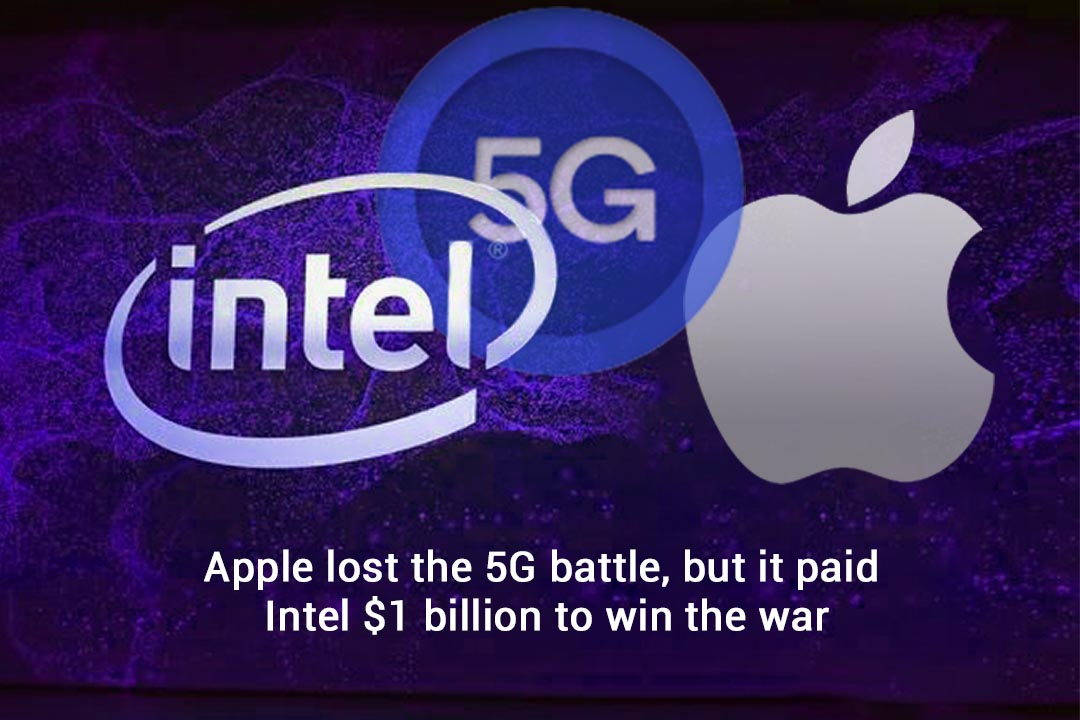 Apple tried to win the 5G race and paid $1 billion to Intel