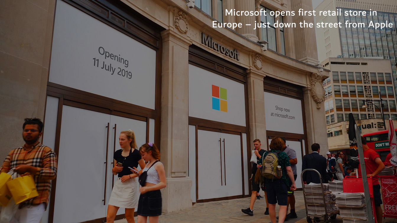 First Retail Store of Microsoft inaugurated in Europe
