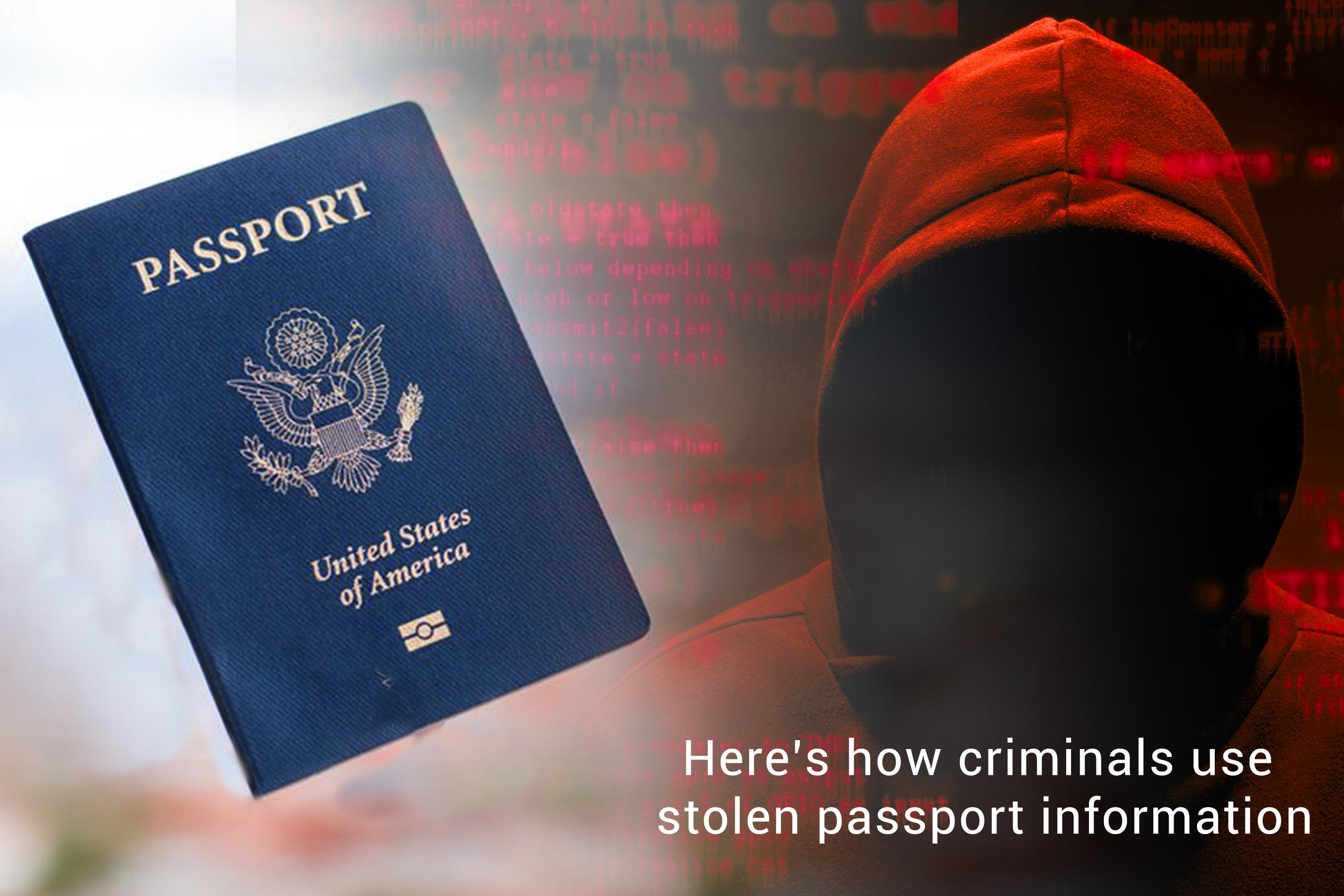 How Offenders use Information of Stolen Passport