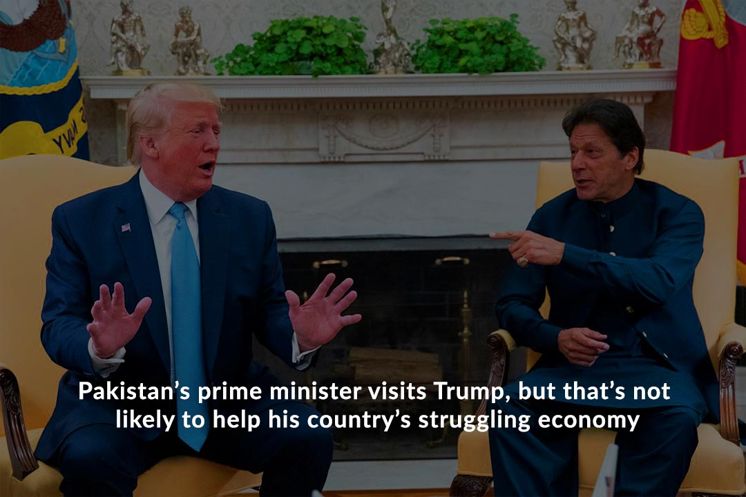 Imran Khan Visit to Trump might not help Pakistan's Struggling Economy