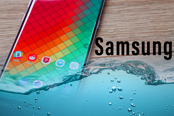 Samsung Facing Lawsuit against its claims of Water resistant devices