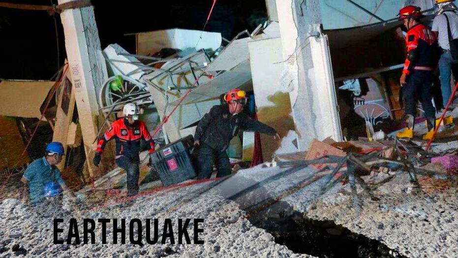 2nd Earthquake of Magnitude 7.1 hit Southern California