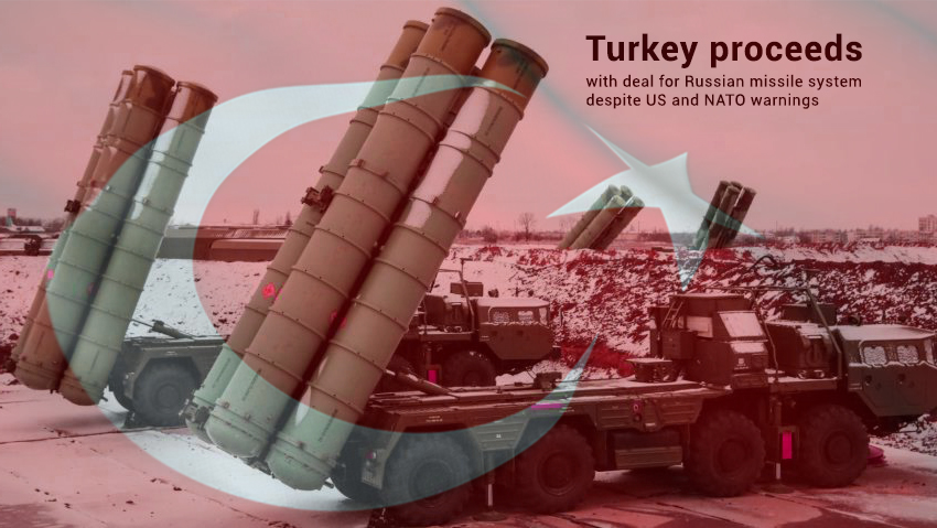 Turkey goes with Russian missile system deal regardless of US Warnings