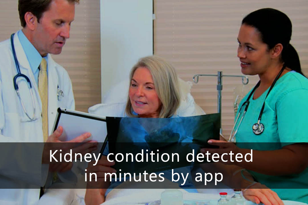 AI based App can detect Kidney Condition in Minutes