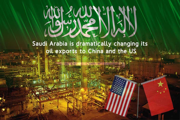 KSA is Revising its oil export Strategy to China and the US