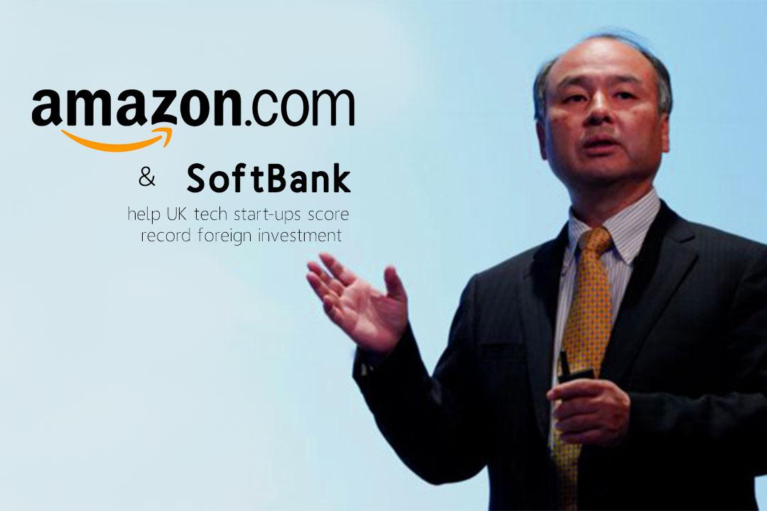 Softbank and Amazon mutually assist Tech start-ups of UK