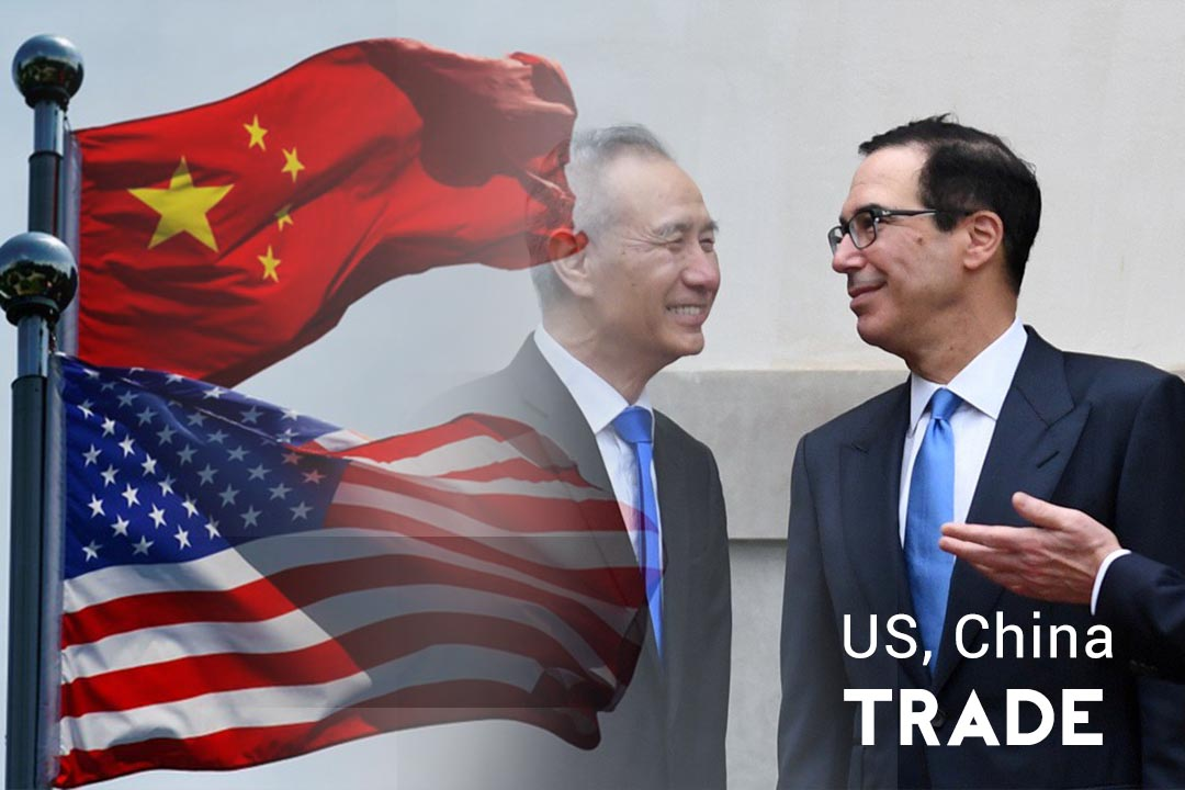 Trade Talk of US-China ends with concise reaction to Trump