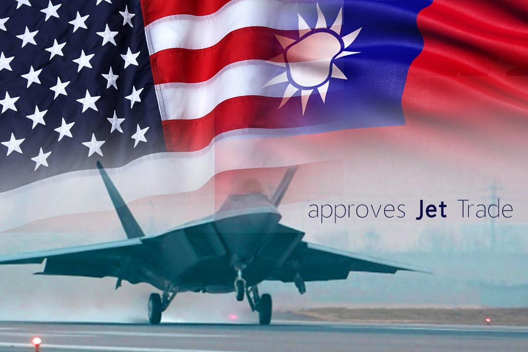 Trump Administration Approves Officially Fighter Jets sale to Taiwan