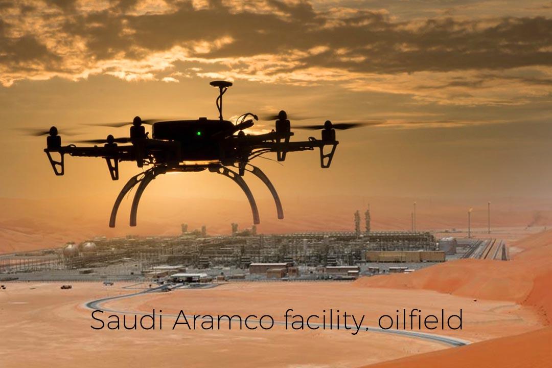 Saudi Aramco Facility, Oilfield Hit with Drone Attacks