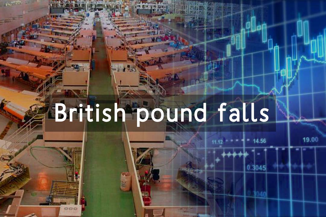British Pound fell to 47.4 after UK factory activity dives