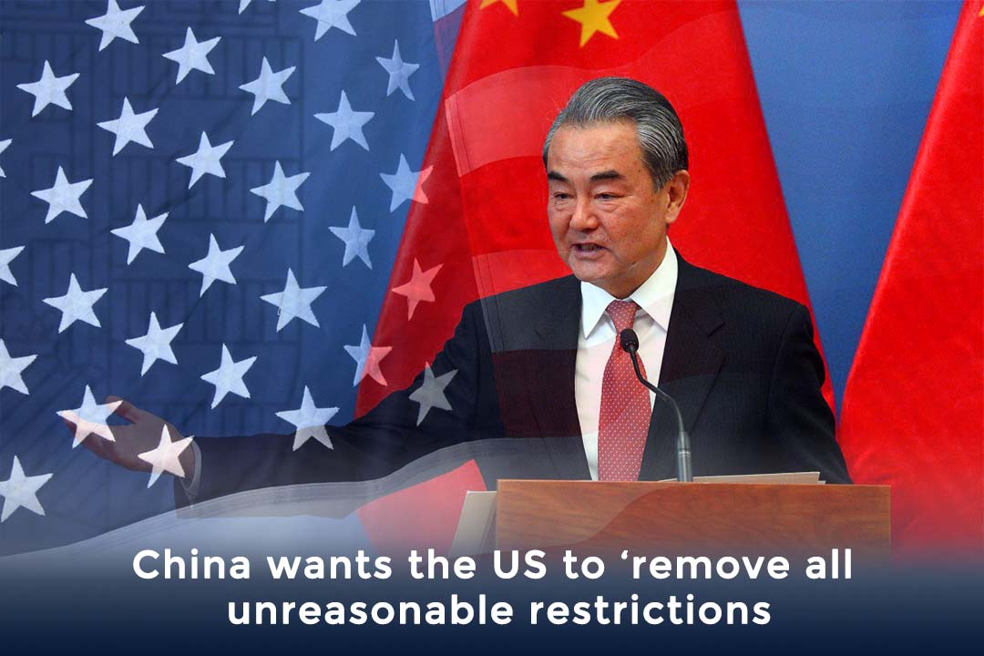 China Demands from US to remove illogical Restrictions – foreign minister