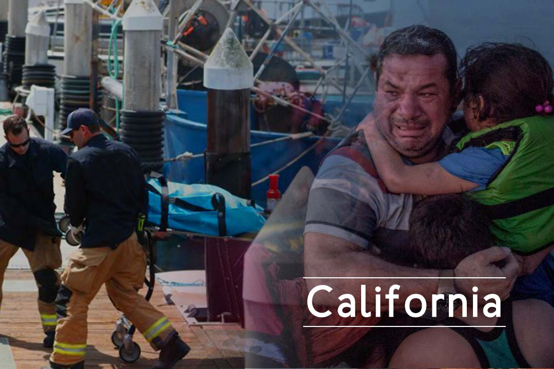Fire in California dive-boat kills 15 People and several missing