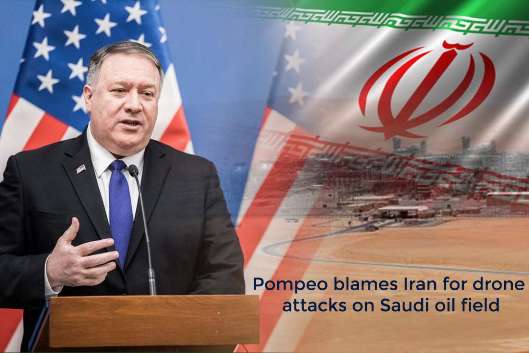 US Secretary of State Accused Iran for KSA drone Attacks