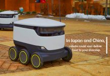 Robots Could shortly Deliver Food to Doorstep in China and Japan