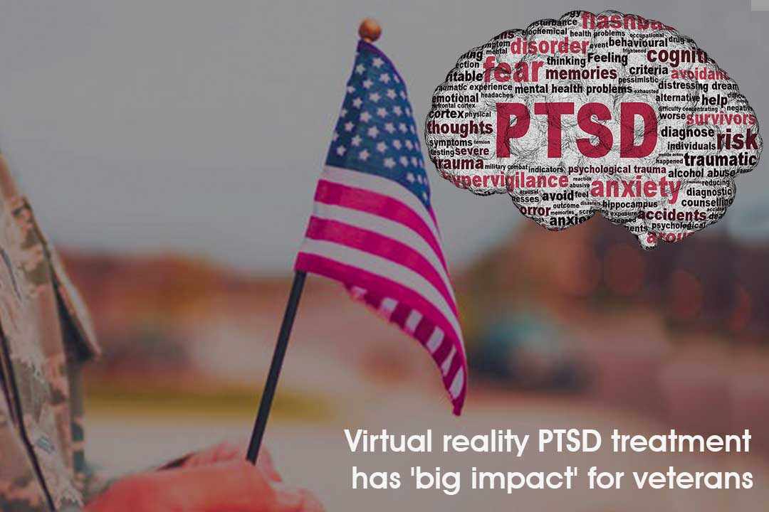Virtual Reality Could use to remove post-traumatic military stress Disorder