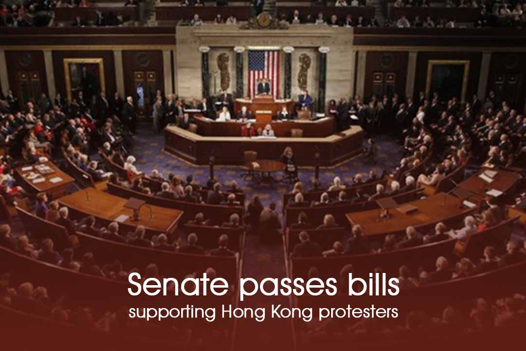 China accused US of Interference due to Senate passed bill backing protestors of HK