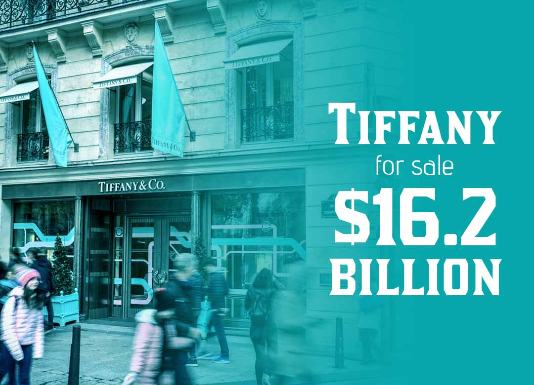 LVMH confirms Agreement to purchase Tiffany for $16.2 billion
