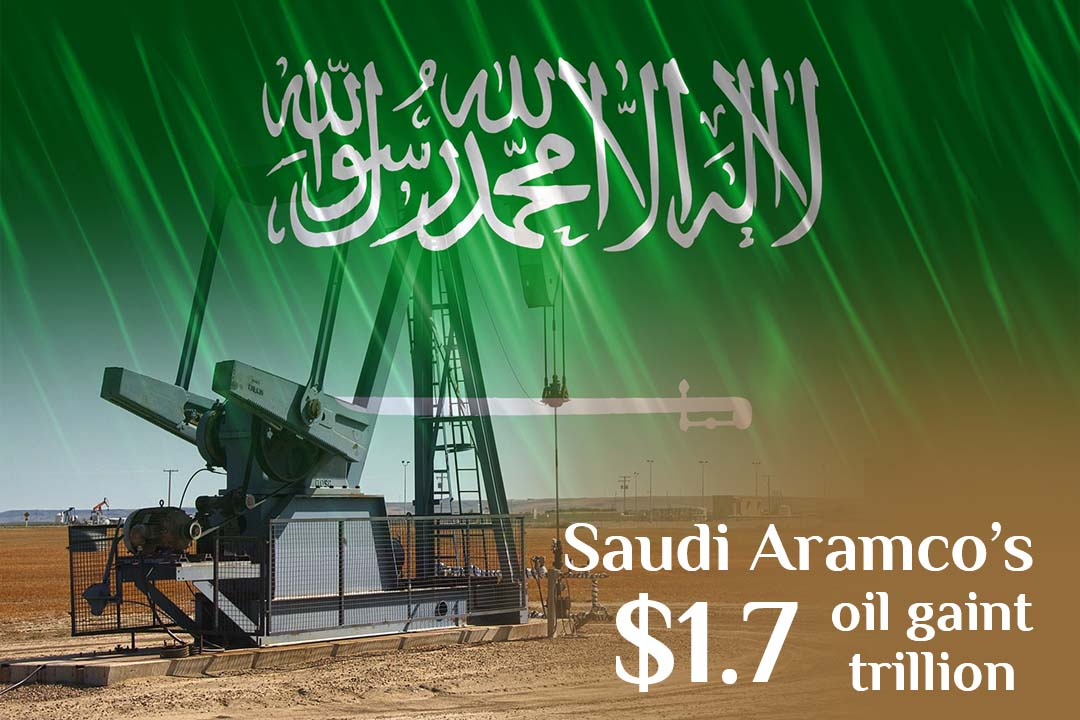 Saudi Aramco's IPO values the oil giant at over $1.7 trillion