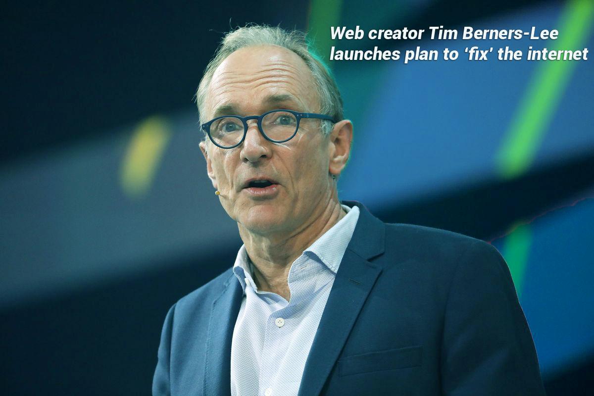 Tim Berners-Lee, a web creator unveil plan to fix the Internet