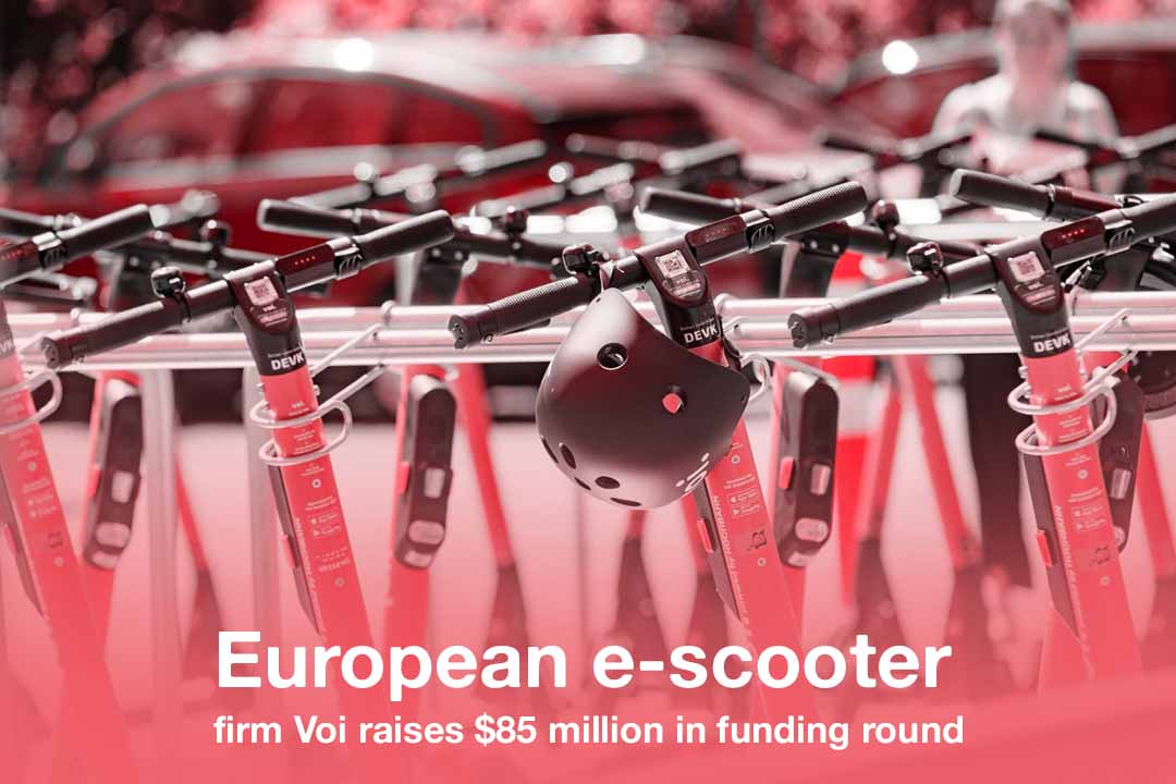 Voi, e-scooter firm raises $85 million in funding round