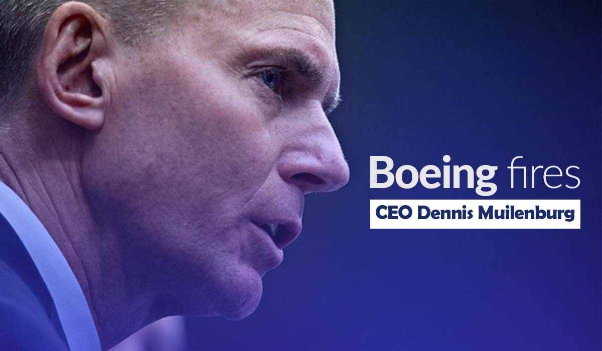 Boeing Fires its CEO Dennis Muilenburg with David Calhoun