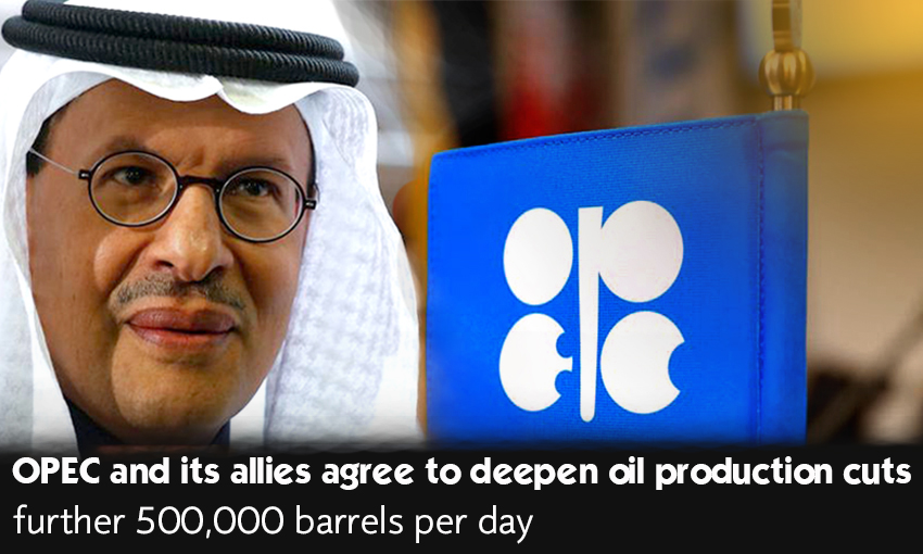 OPEC along with its partners settled to expand oil production cuts