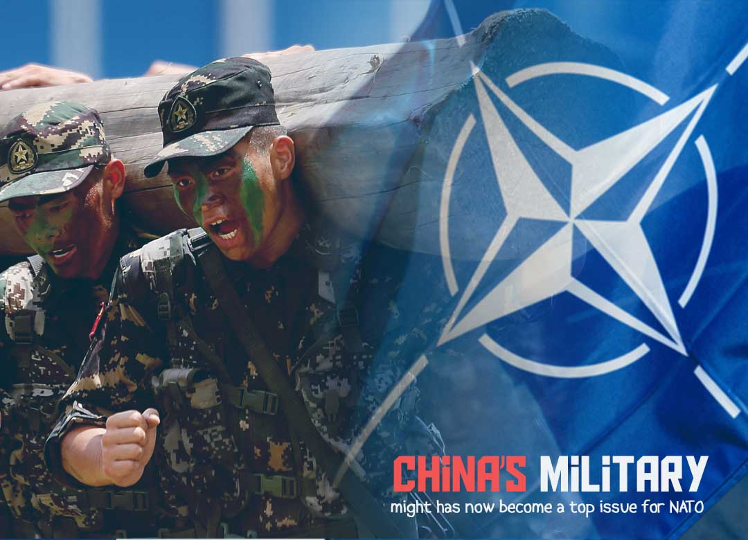 The military of China might become a major issue for NATO