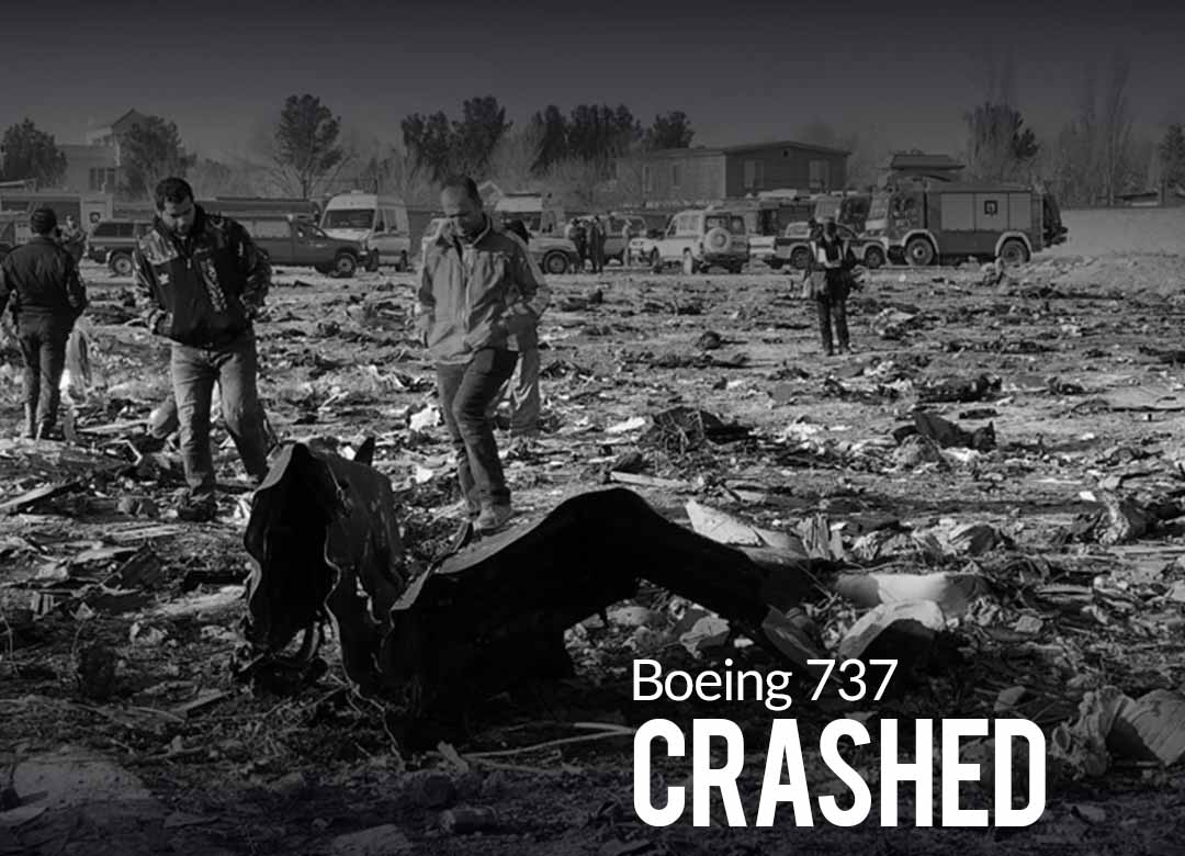 Boeing 737 Crashes in Iran Shortly After Takeoff killing all 176