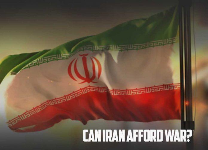 Can Iran afford a war