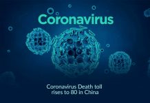 Coronavirus death toll rises to 80 in China
