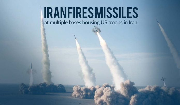 Iran launched several missiles at multiple bases housing US Troops in Iraq