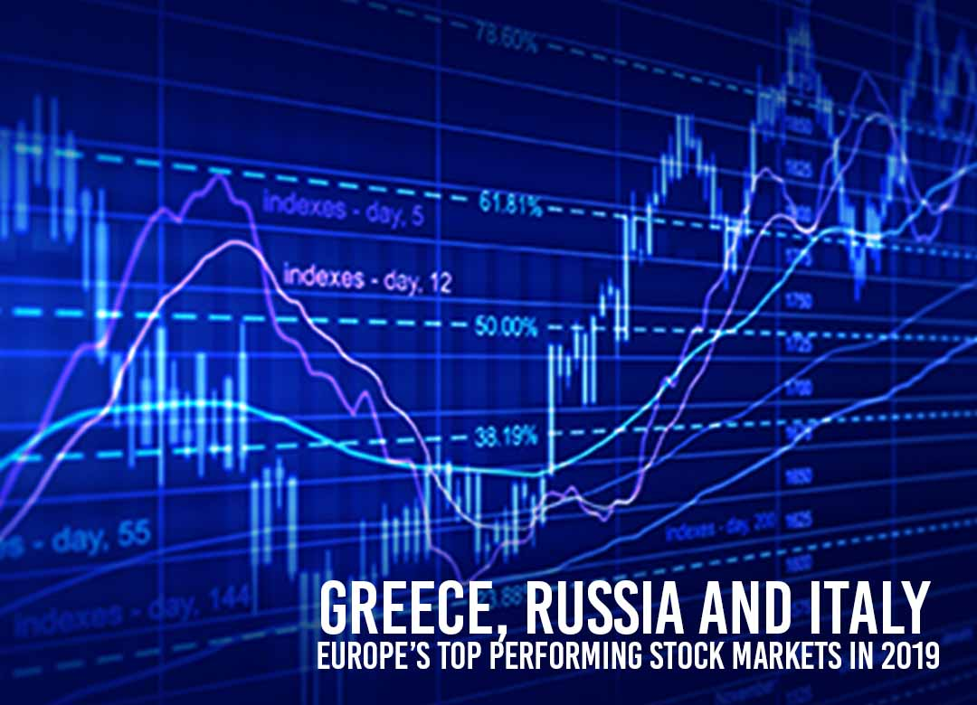 Top Performing Stock markets of Europe in 2019
