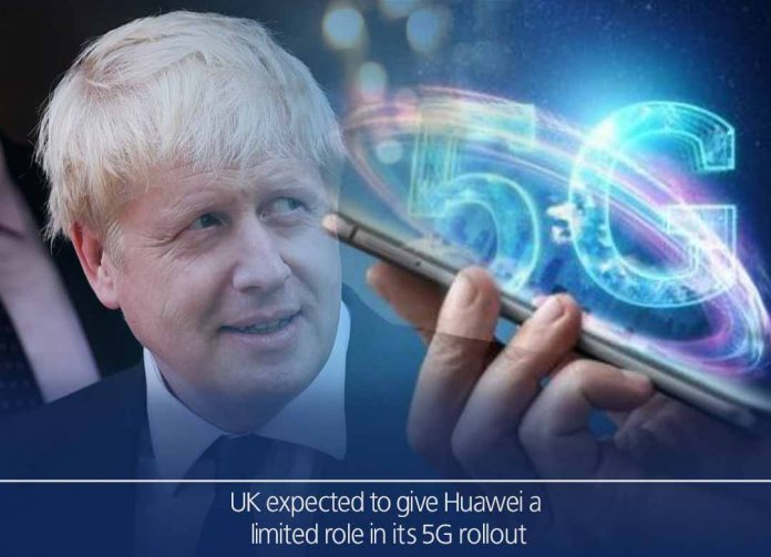 United Kingdom expected to give a limited role toHuawei in its 5G rollout