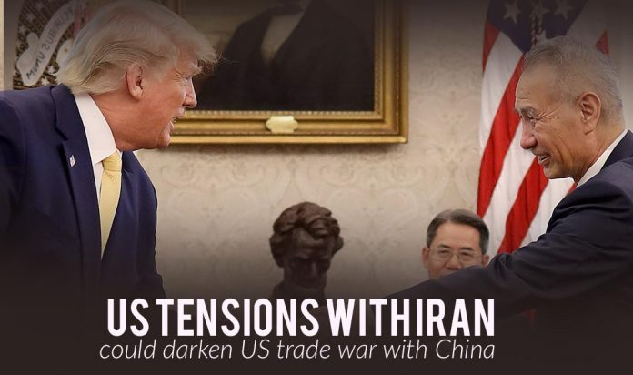 The recent US Tensions with Iran could Darken Trade War with China