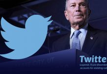 70 pro-Bloomberg Twitter accounts suspended